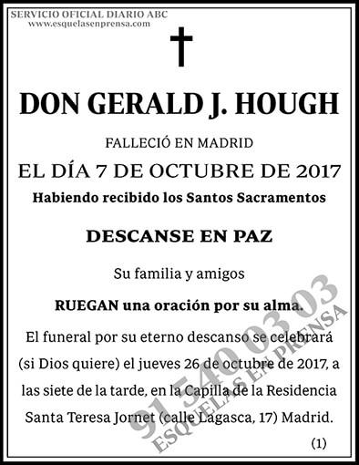 Gerald J. Hough